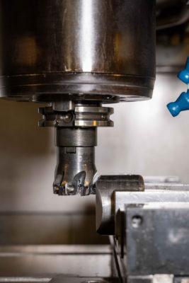 Foto fresatura meccanica di precisione